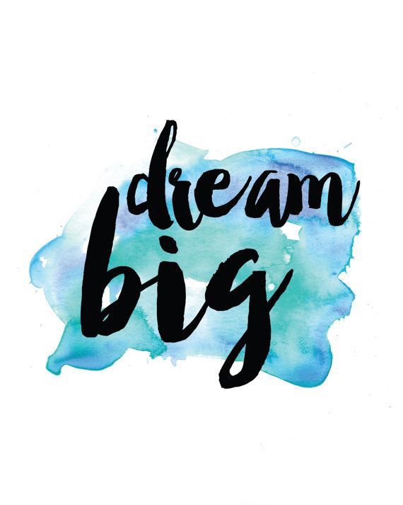 Everyone are capable to dream big but not everyone are determined to achieve it.